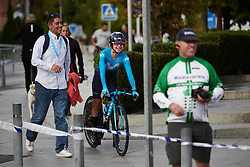 Paula Patino Bedoya (COL) after La Madrid Challenge by La Vuelta 2019 - Stage 1, a 9.3 km individual time trial in Boadilla del Monte, Spain on September 14, 2019. Photo by Sean Robinson/velofocus.com