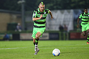 Forest Green Rovers Liam Noble (15) runs with the ball during the Vanarama National League match between Forest Green Rovers and Eastleigh at the New Lawn, Forest Green, United Kingdom on 13 September 2016. Photo by Shane Healey.