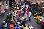 The central market in Ubud, Bali, Indonesia, where it possible to find lotus pods, rambutan fruits, lychee nuts, edible cactus pears, and the expensive and sought-after bee larvae. Image from the book project Man Eating Bugs: The Art and Science of Eating Insects.