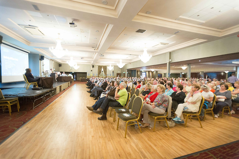 Some of the large crowd at the  Fleadh  Cheoil na hÉireann Inis 2016 information evening at Treacy's West County Hotel on Thursday evening. Photograph by Eamon Ward