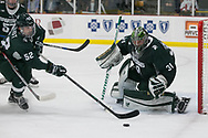 The Michigan State Spartans travel to Western Michigan and Lawson Ice Arena in Kalamazoo for the second night of a home-and-home weekend series on Saturday October 21, 2017. Andrew Knapik/MiHockeyNow