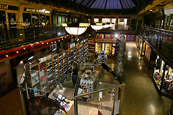 IRELAND KERRY TRALEE 3FEB06 - Retail arcade in Tralee town centre.. . jre/Photo by Jiri Rezac. . © Jiri Rezac 2006. . Contact: +44 (0) 7050 110 417. Mobile:  +44 (0) 7801 337 683. Office:  +44 (0) 20 8968 9635. . Email:   jiri@jirirezac.com. Web:    www.jirirezac.com. . © All images Jiri Rezac 2006 - All rights reserved.