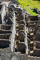 Machu Picchu, Peru - July 17, 2013: People tourist visiting Palace of the princess Machu Picchu, Incas ruins in the peruvian Andes at Cuzco Peru