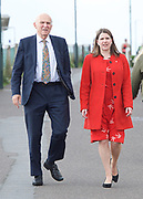 Liberal Democrats Annual Conference, Bournemouth International Centre, Bournemouth, Great Britain <br /> 19th September 2017 <br /> <br /> Vince Cable MP Leader of the Liberal Democrats and Jo Swinson - deputy leader of the party arrive at the conference centre ahead of his leaders' speech. <br /> <br /> <br /> <br /> <br /> <br /> Photograph by Elliott Franks <br /> Image licensed to Elliott Franks Photography Services