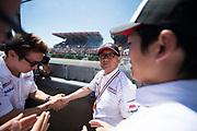 June 13-18, 2017. 24 hours of Le Mans. Akio Toyoda, Kamui kobayashi, Toyota Racing, Toyota TS050 Hybrid