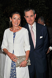 LORD & LADY ROTHERWICK at a dinner hosted by Cartier in celebration of the Chelsea Flower Show held at Battersea Power Station, 188 Kirtling Street, London SW8 on 23rd May 2011.