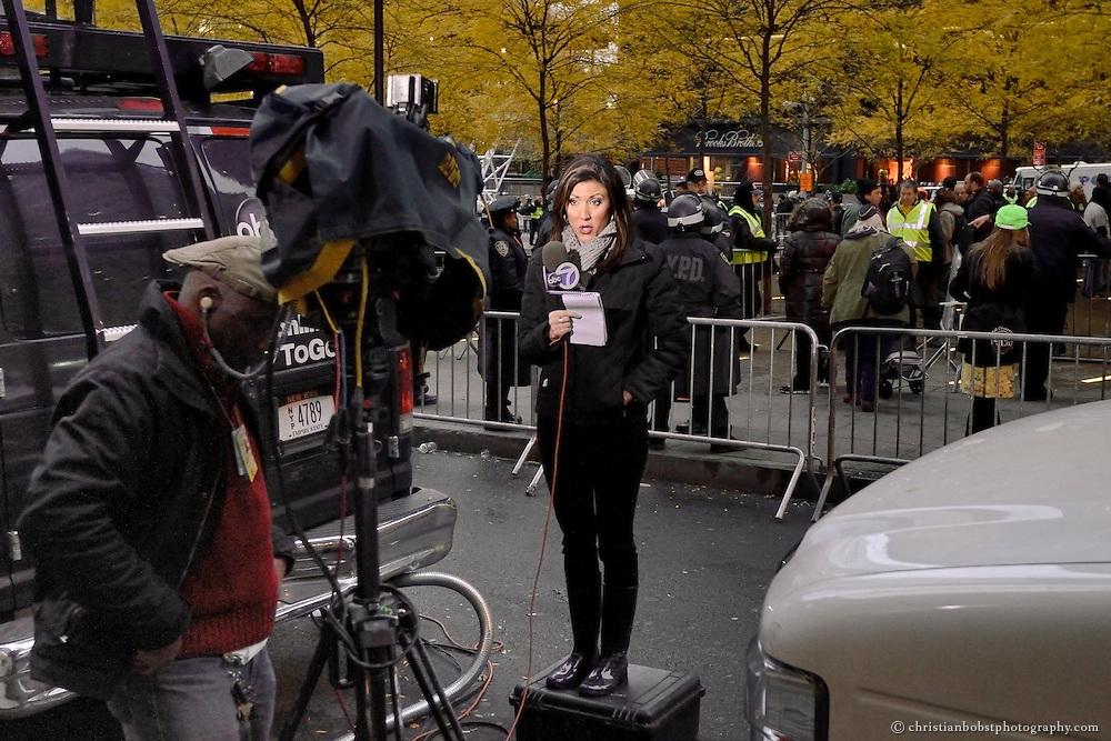 November 17 2011, Zuccotti Park, NY