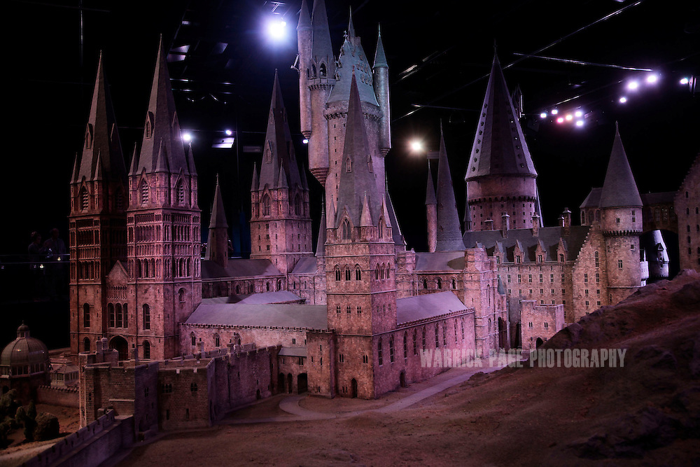 The enormous model of Hogwarts School of Witchcraft and Wizardry is seen at the Harry Potter Studio Tour at the Warner Brothers Leavesden Studios on March 23, 2012 in London, England. The studio, which includes the actual sets and special effects departments where the films were created and shot, goes on public display on March 31, 2012. (Photo by Warrick Page)
