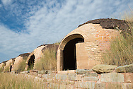 The historic coke ovens in Redstone, Colorado.