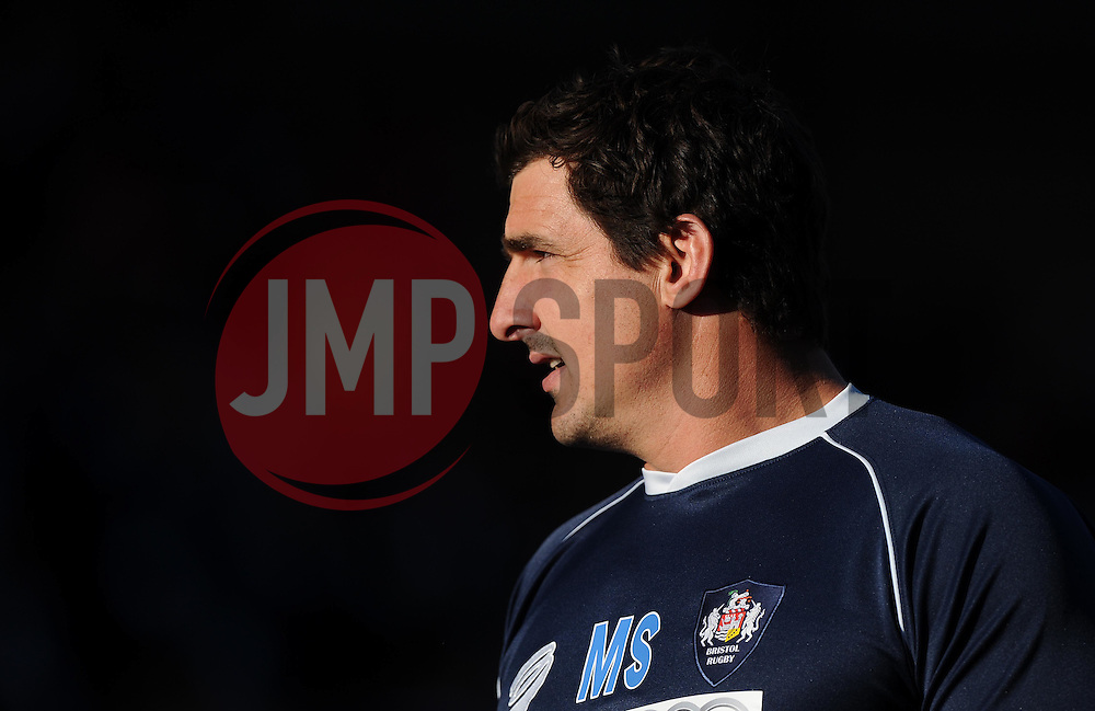 Bristol Lock Mark Sorenson  - Photo mandatory by-line: Joe Meredith/JMP - Mobile: 07966 386802 - 20/05/2015 - SPORT - Rugby - Bristol - Ashton Gate - Bristol Rugby v Worcester Warriors - Greene King IPA Championship - Play-Off Final