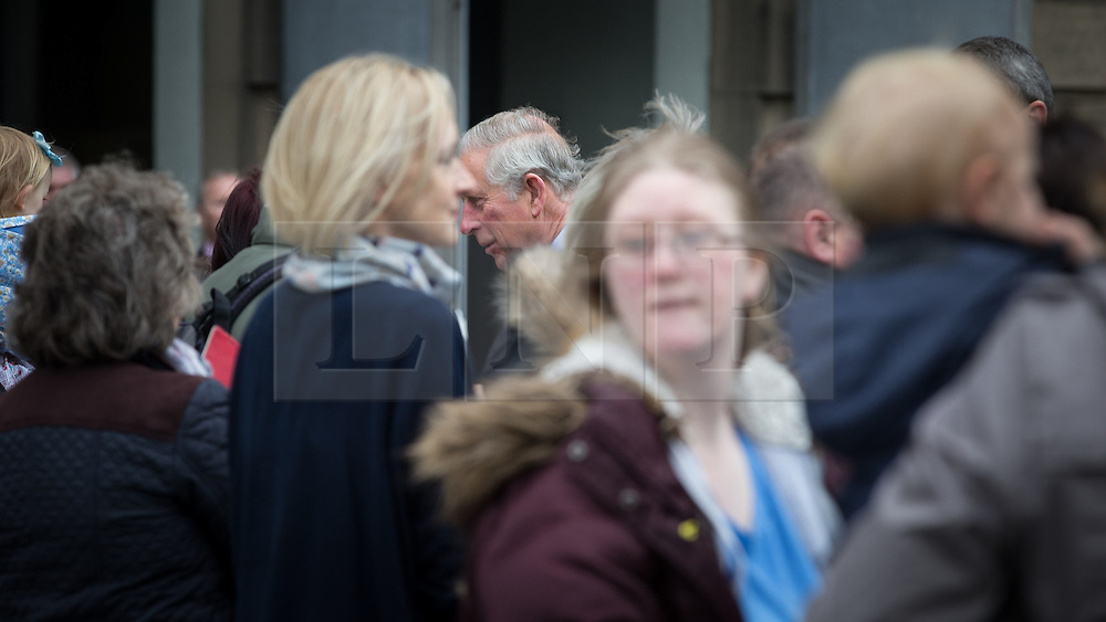© Licensed to London News Pictures . 14/05/2015 . Liverpool , UK . The Prince of Wales arrives for a visit to the World Museum in Liverpool . Photo credit : Joel Goodman/LNP