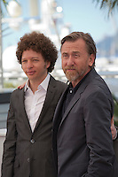 Director Michel Franco and actor Tim Roth at the Chronic film photo call at the 68th Cannes Film Festival Friday 22nd May 2015, Cannes, France.