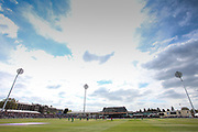 General view of the ground, during the One Day International match between England and Ireland at the Brightside County Ground, Bristol, United Kingdom on 5 May 2017. Photo by Andrew Lewis.