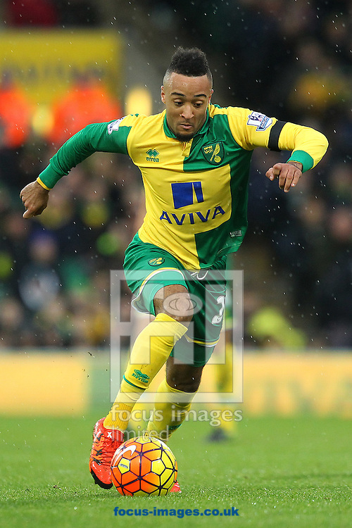 Nathan Redmond of Norwich in action during the Barclays Premier League match at Carrow Road, Norwich<br /> Picture by Paul Chesterton/Focus Images Ltd +44 7904 640267<br /> 12/12/2015