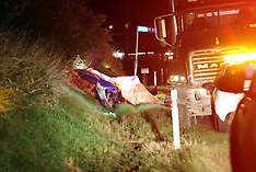 Tauranga-Five dead after car v truck, Aongatete