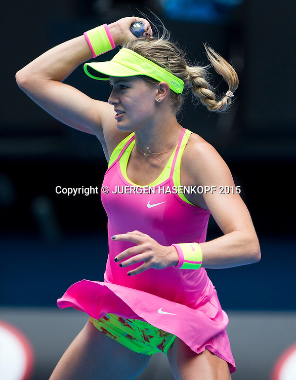 Eugenie Bouchard (CAN)<br /> <br /> Tennis - Australian Open 2015 - Grand Slam ATP / WTA -  Melbourne Olympic Park - Melbourne - Victoria - Australia  - 27 January 2015.