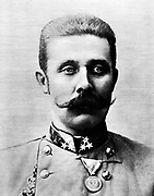Franz Ferdinand (18 December 1863–28 June 1914) was an Archduke of Austria-Este, Austro-Hungarian and Royal Prince of Hungary and of Bohemia, and from 1889 until his death, heir presumptive to the Austro-Hungarian throne. His assassination in Sarajevo precipitated Austria-Hungary's declaration of war against Serbia