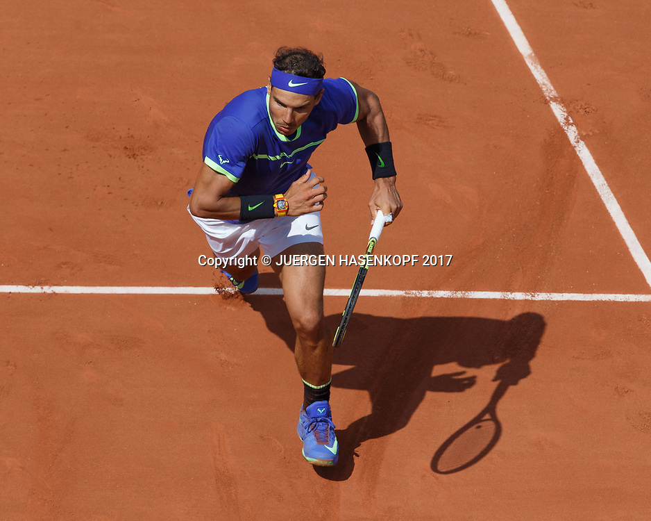 RAFAEL NADAL (ESP)<br /> <br /> Tennis - French Open 2017 - Grand Slam / ATP / WTA / ITF -  Roland Garros - Paris -  - France  - 31 May 2017.