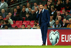 England Manager Gareth Southgate looks on thoughtfully - Mandatory by-line: Robbie Stephenson/JMP - 05/10/2017 - FOOTBALL - Wembley Stadium - London, United Kingdom - England v Slovenia - World Cup qualifier