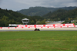 August 10, 2018 - Spielberg, Austria - 55 Malaysian driver Hafizh Syahrin of Team Yamaha Tech 3 race during free practice of Austrian MotoGP grand prix in Red Bull Ring in Spielberg, Austria, on August 10, 2018. (Credit Image: © Andrea Diodato/NurPhoto via ZUMA Press)