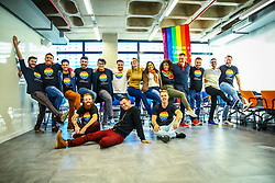 Connection Day é um evento interno do grupo Pride Connection Brasil, em Porto Alegre. FOTO: Felipe Nogs / Agência Preview