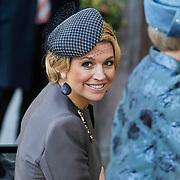 BEL/Brussel/20101120 - Huwelijk prinses Annemarie de Bourbon de Parme-Gualtherie van Weezel en bruidegom Carlos de Borbon de Parme, prinses Maxima