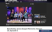 BET's Bobby Jones Gospel Hour, Washington DC, 2015
