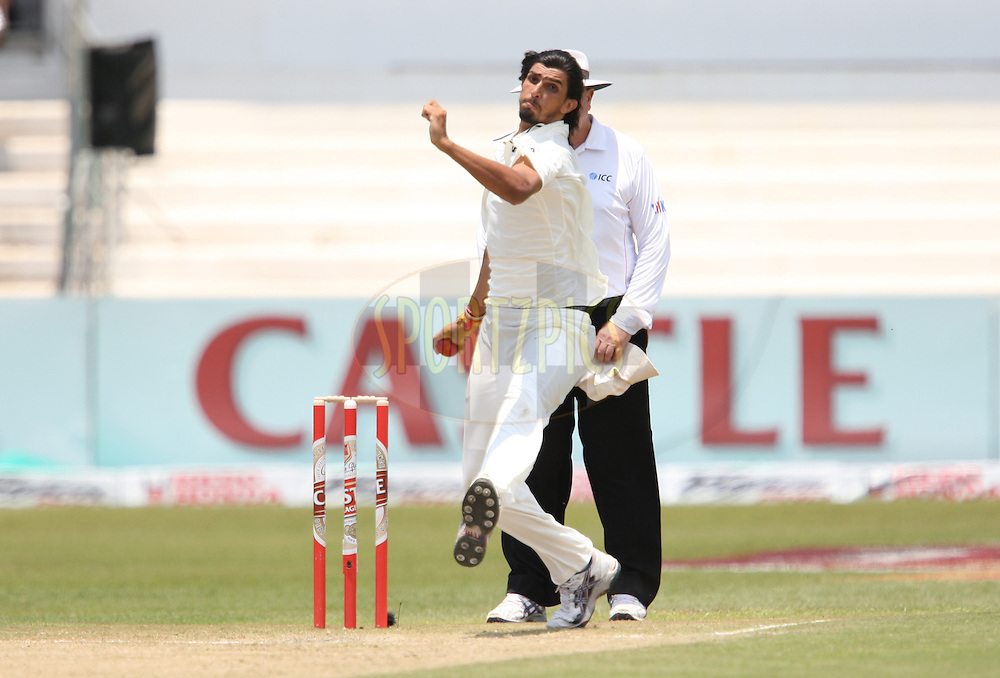 Ishant Sharma during day 2 of the second test match between South Africa and India held at Kingsmead Stadium in Durban on 27th December...Photo by Steve Haag/BCCI/SPORTZPICS