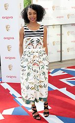 Sophie Okonedo arriving at the British Academy Television Awards in London, Sunday , 27th May 2012.  Photo by: Stephen Lock / i-Images