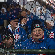 &quot;Ushers on a Rainy Day.&quot; Chicago Cubs opening day Friday, April 4, 2014 at Wrigley Field. Made with three exposures in-camera. (Brian Cassella/Chicago Tribune) B583641656Z.1 <br /> ....OUTSIDE TRIBUNE CO.- NO MAGS,  NO SALES, NO INTERNET, NO TV, CHICAGO OUT, NO DIGITAL MANIPULATION...