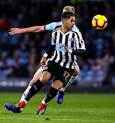 Ayoze Perez of Newcastle United - Mandatory by-line: Robbie Stephenson/JMP - 26/11/2018 - FOOTBALL - Turf Moor - Burnley, England - Burnley v Newcastle United - Premier League
