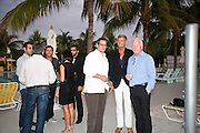 MICHAEL WOLFSON; NICHOLAS RAUBERTAS; BEAT RAAFTLAUB, AndrŽ Balazs and Marc Newson host  the US sea launch of The Acquariva, The Standard Hotel & Spa. Miami Beach. November 30th 2010. .-DO NOT ARCHIVE-© Copyright Photograph by Dafydd Jones. 248 Clapham Rd. London SW9 0PZ. Tel 0207 820 0771. www.dafjones.com.<br /> MICHAEL WOLFSON; NICHOLAS RAUBERTAS; BEAT RAAFTLAUB, André Balazs and Marc Newson host  the US sea launch of The Acquariva, The Standard Hotel & Spa. Miami Beach. November 30th 2010. .-DO NOT ARCHIVE-© Copyright Photograph by Dafydd Jones. 248 Clapham Rd. London SW9 0PZ. Tel 0207 820 0771. www.dafjones.com.