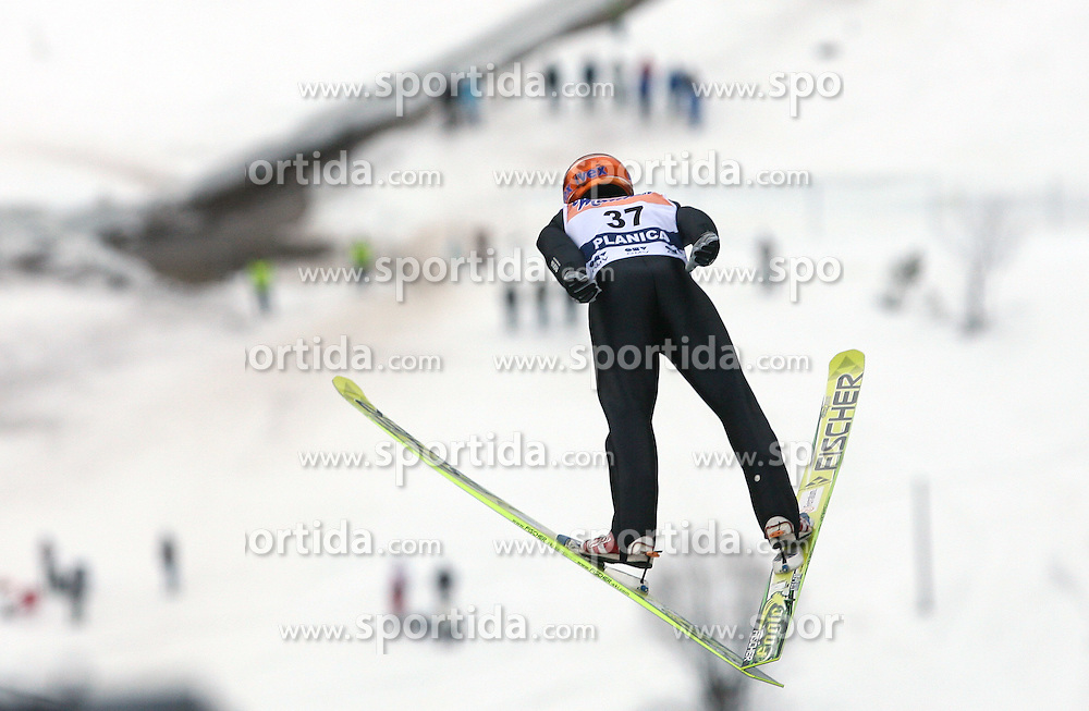 Harri Olli (FIN) at Flying Hill Individual in 2nd day of 32nd World Cup Competition of FIS World Cup Ski Jumping Final in Planica, Slovenia, on March 20, 2009. (Photo by Vid Ponikvar / Sportida)