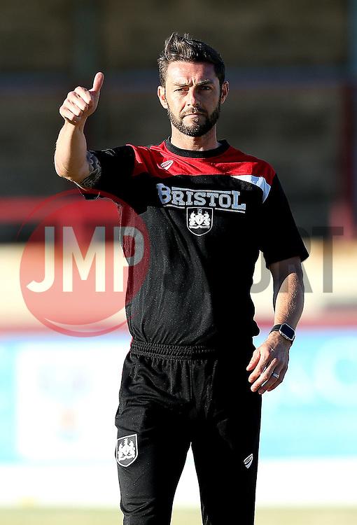 Bristol City Under 21s Manager Jamie McAllister - Mandatory by-line: Robbie Stephenson/JMP - 13/07/2016 - FOOTBALL - Bob Lucas Stadium - Weymouth, England - Weymouth FC v Bristol City Under 21s - Pre-season friendly