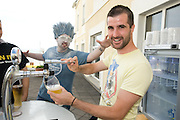 Ronan O Brien from Whitegate in Co. Clare pulls his own pint  at the Budweiser Ice Cold Summer BBQ, broadcast live on the Tony Fenton Show at The Galway Bay Hotel in Salthill. Photo:Andrew Downes.. .Both Duke Special and The Divine Comedy performed at the summer kick-off party and Today FM's Tony Fenton Show broadcast live from the hotel all afternoon...The 150 invited guests included Today FM listeners ad Budweiser Ice Cold Facebook fans from all over the country. Guests also won the chance to win a cool Grand in cash, meet Mr. Iceman and of course enjoy a pint of Budweiser Ice Cold, the coldest pint ever!..Enjoy Budweiser Ice Cold sensibly visit www.drinkaware.ie ..This event was strictly over 18's,..-ENDS-..FOR FURTHER INFORMATION PLEASE CONTACT:.Killian Burns / Aoiffe Madden..Killian.burns@ogilvy.com / aoiffe.madden@ogilvy.com.WHPR..Tel: 01 6690030.