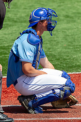 NORMAL, IL - May 01: Max Wright during a college baseball game between the ISU Redbirds and the Indiana State Sycamores on May 01 2019 at Duffy Bass Field in Normal, IL. (Photo by Alan Look)