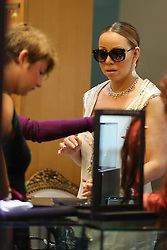 NO WEB NO APP S IN FRANCE UNTIL January 25 - Mariah Carey shops various luxury boutiques in St Barts on January 10, 2016. Photo by ABACAPRESS.COM  | 529741_022 St Barthelemy France