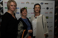 13/11/2015 Repro free:  Pauline Carr, Alice Meagre and Majella Fitzmaurice from Ardrahan at Galway Glamour  by Galway Shopping Centre at the g Hotel hosted by Sile Seoige  <br /> Photo:Andrew Downes, xposure.