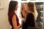 LULU BARSOTTI,;  ANOUSKHA BECKWITH; JENNY BENEDICTE WILHELMSEN;,   Anthony Souza: photographs from W.E. (directed by Madonna) and personal works from India. Little Black Gallery. Kensington. London. 13 December 2011.
