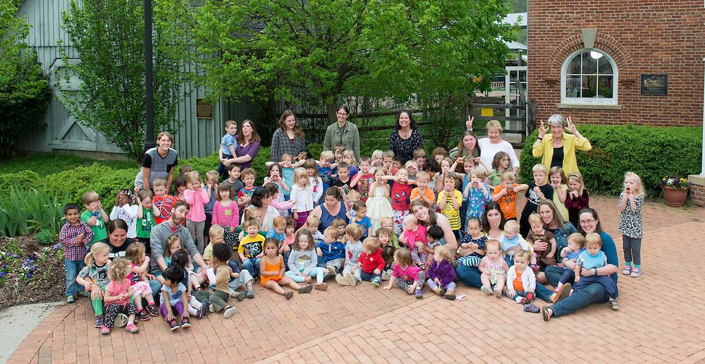 Child Development Center Group Portrait. ©Ohio University / Photo by Ben Siegel