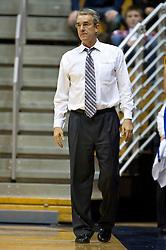 December 29, 2009; Berkeley, CA, USA;  UC Santa Barbara Gauchos head coach Bob Williams during the second half against the California Golden Bears at Haas Pavilion.  California defeated UC Santa Barbara 87-66.