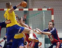 Håndball, 2. januar 2003, EM kvalifisering herrer, Norge - Romania. Kjetil Strand, Norge