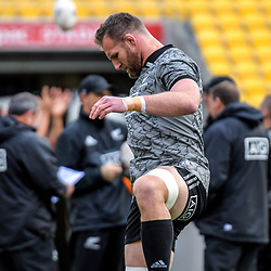 Kieran Read. All Blacks training at Westpac Stadium in Wellington, New Zealand on Thursday, 14 June 2018. Photo: Dave Lintott / lintottphoto.co.nz