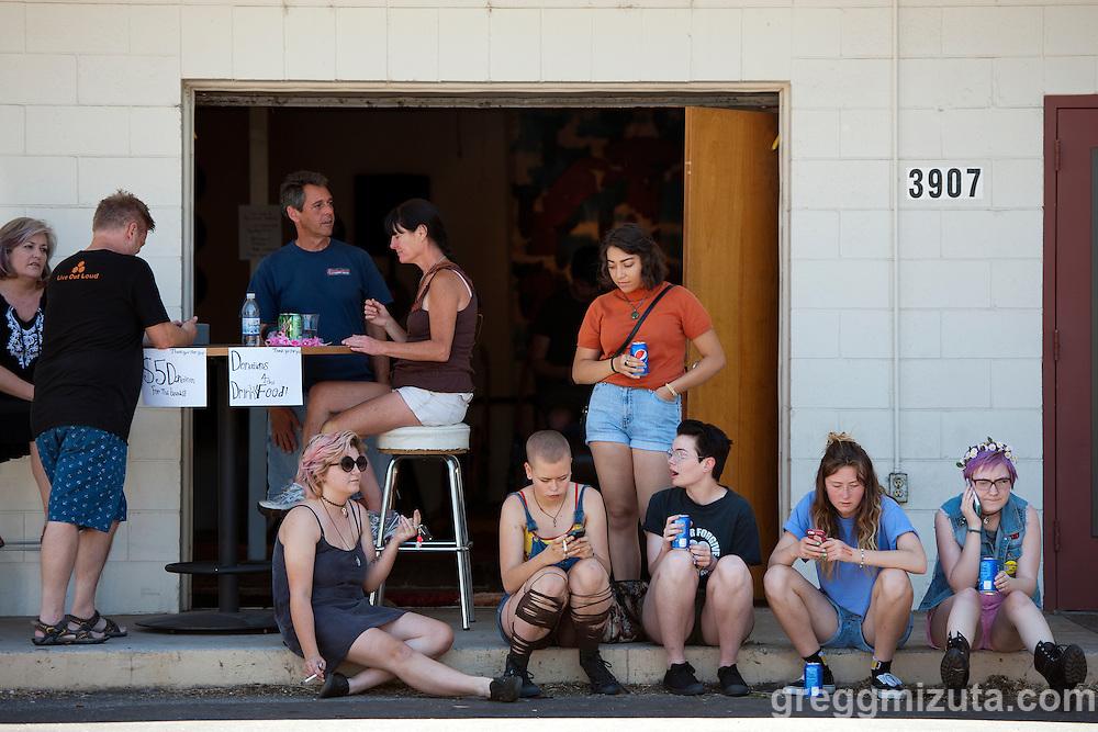 The Commonauts Youth Outreach Program Summer Opener at the Boise Hive on June 4, 2016 in Boise, Idaho. (Gregg Mizuta/greggmizuta.com)<br /> <br /> Julia &amp; the Jumpscares, Tag Along Friend, Girl Puke, Three Gunas.