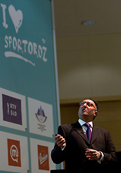 Ardi Kolah of Guru in a Bottle during Sporto  2010 - Sports marketing and sponsorship conference, on November 29, 2010 in Hotel Slovenija, Portoroz/Portorose, Slovenia. (Photo By Vid Ponikvar / Sportida.com)
