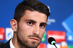 October 17, 2017 - Turin, Piedmont, Italy - Cristiano Piccini (Sporting CP) during the Sporting CP press conference on the eve of the UEFA Champions League (Group D) match between Juventus FC and Sporting CP at Allianz Stadium on 17 October, 2017 in Turin, Italy. (Credit Image: © Massimiliano Ferraro/NurPhoto via ZUMA Press)