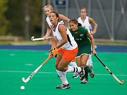 August 29, 2008 - CHARLOTTESVILLE, VA -  Virginia Cavaliers Inge Kaars Sijpesteijn (11) in action against W&M.  The Virginia Cavaliers field hockey team defeated the William and Mary Tribe 5-0 on the University Hall Turf Field on the Grounds of the University of Virginia in Charlottesville, VA.