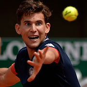 03.06.2018 ITF French Open Tennis Roland-Garros Paris France Dominic Thiem AUT during Day 6 of the tournament