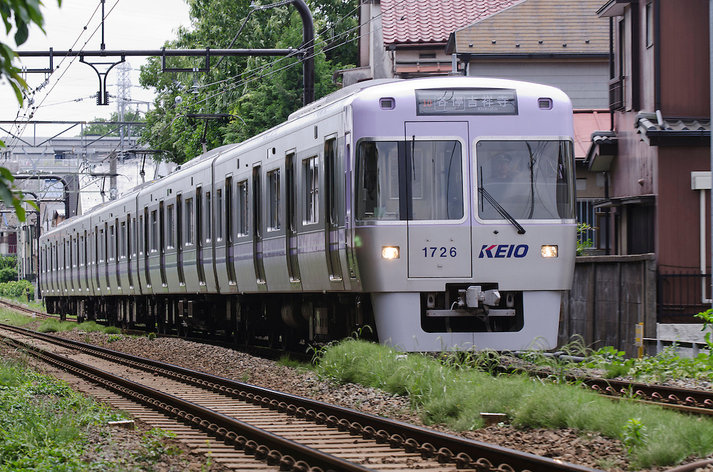 The Inokashira Line commuter train, Tokyo, Japan, Monday, May 30, 2011.Credit:SNPA/David Alexander