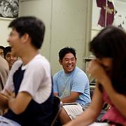 HONOLULU, HAWAII, November 9, 2007: Tadd Fujikawa, a sixteen-year-old professional golfer, attends high school Honolulu, Hawaii. (Photographs by Todd Bigelow/Aurora)
